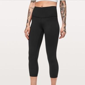 Lululemon wunder under crop pant